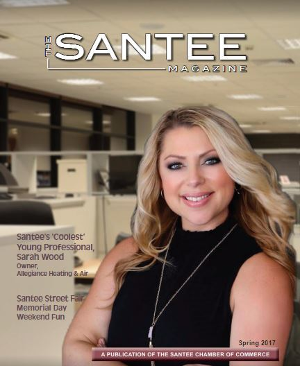 Sarah wood santee young professional allegiance for Santee business license